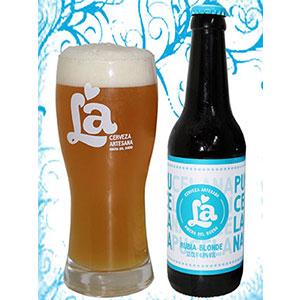1 Botella de La Pucelana + vaso diseño LA